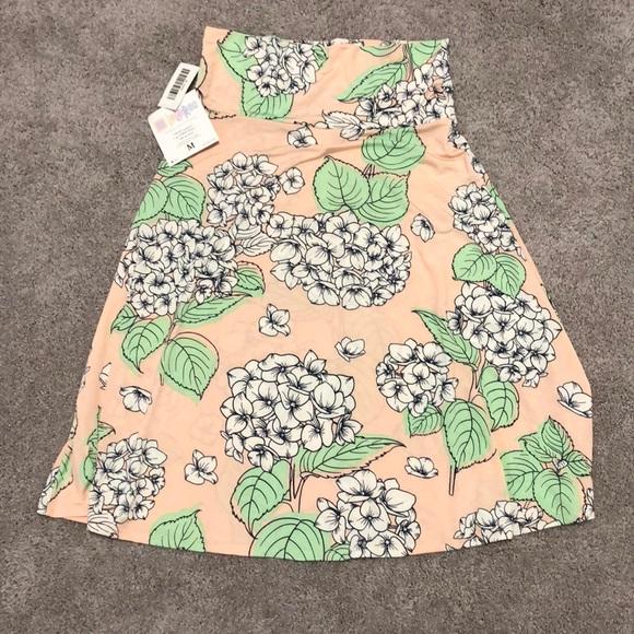 LuLaRoe Azure Skirt NWT